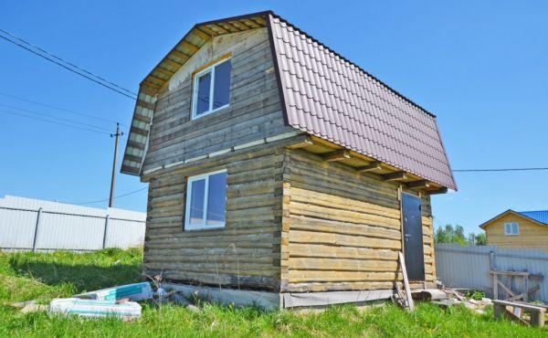 Новый дом в современном коттеджном посёлке Новый Свет
